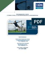 Doc Boletin Torneo Madelena Futbol5