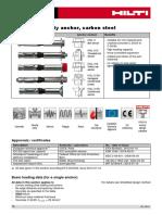Hilti HSL (Heavy Duty Anchorage) Systems 1