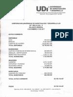 Estados Financieros UDI 2017