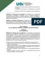 Reglamento Estudiantil UDI 2010 - Derechos de Los Estudiantes