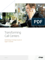 Transforming Call Centers Xendesktop 75 Design Guide on Hyperv 2012r2
