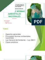 Expo Principales Normas Ambientales Nacionales