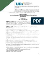 Reglamento Estudiantil UDI 2010 - Monitores Docentes