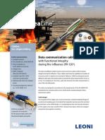 Leoni Sealine Cables for Shipbuilding