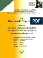 Sistema de Informacion Geografica - SIGRID