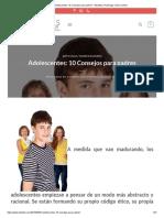 Adolescentes_ 10 Consejos Para Padres - Rizaldos _ Psicólogo Clínico Online