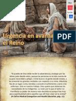Lección 20 - Urgencia en Avanzar El Reino (Diapositiva)