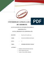 Sintesis de La i Unidad Informe