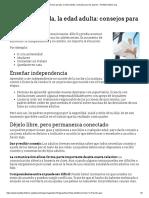 Próxima Parada, La Edad Adulta_ Consejos Para Los Padres - HealthyChildren.org