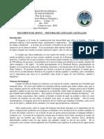 2019 Documento Historia Del Lenguaje Castellano