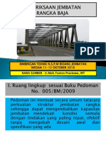 Pemeriksaan Jembatan Rangka Baja