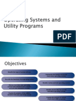 Operating Systems and Utilities Programs