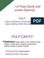 Access cavity Preparation