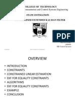 Constrained EKF
