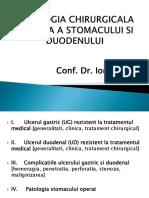 Patologia Chirurgicala Benigna a Stomacului Si Duodenului