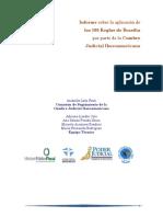 Informe sobre la aplicación de 100 reglas de brasilia 2011.pdf
