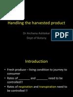 Handling harvest