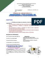 T LAB N° 2- SOLDADURA DE COMPONENTES  ELECTRONICOS