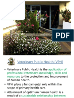 Overview of Veterinary Public Health (Lecture)