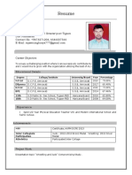 Resume Rajive