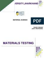 Material Testing 1