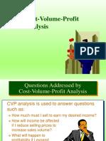 cost volume provit