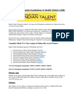 Indian Talent Olympiad