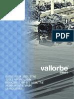 Catálogo de limas Vallorbe - Vallorbe files catalog
