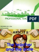Article II III