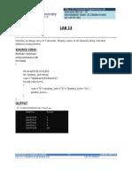 COMPUTER PROG. LAB 13 M. SAAD UZ ZAMAN KHAN BS(CS)-1C 02-134191-061.docx