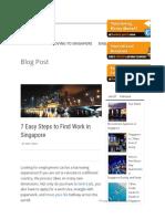 7 Steps Singapore Job