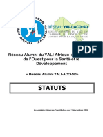 Statuts Du Reseau Alumni Yali-Aco