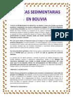 Cuencas Petroleras en Bolivia