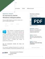 42 Raccourcis Clavier Windows Indispensables - BDM