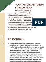 Kelompok 6-Transplantasi Organ Tubuh Dalam Hukum Islam