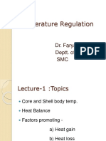 Temp Regulation Lect