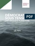 TÉLÉCHARGER EN PDF ENQUÊTE PLANÉTAIRE – DÉMOCRATIES SOUS TENSION – VOLUME II. LES PAYS