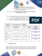 Informe de Practica 9 QUÍMICA ORGÁNICA