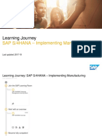 SAP S_4HANA – Implementing Manufacturing_2017-10