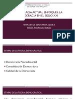 Democracia Actual Enfoques