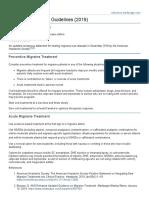Migraine Treatment Guidelines (2019).pdf