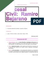 Semana del 22 al 25 de enero de 2018 - Derecho Procesal Civil (Apuntes aportados por Lina Garcia).docx