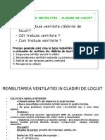 HVAC Reabilitare Ventilatie