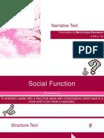 Narrative Text - Bahasa Inggris kelas 10