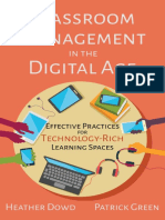 Classroom Management in the Digital Age Effective Practices for Technology Rich Learning Spaces Sample Pages