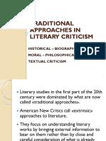 Pendekatan Kritik Sastra