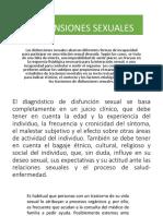 DISFUNSIONES SEXUALES