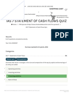IAS 7 Statement of Cash Flow Quiz |