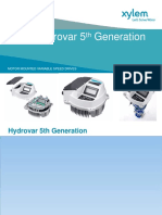 171122 Xylem Hydrovar Variable Speed Drive IEM Seminar Agent CS Power