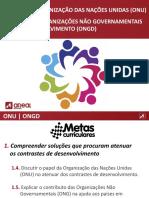 6 ONU  e ONGD  18-19